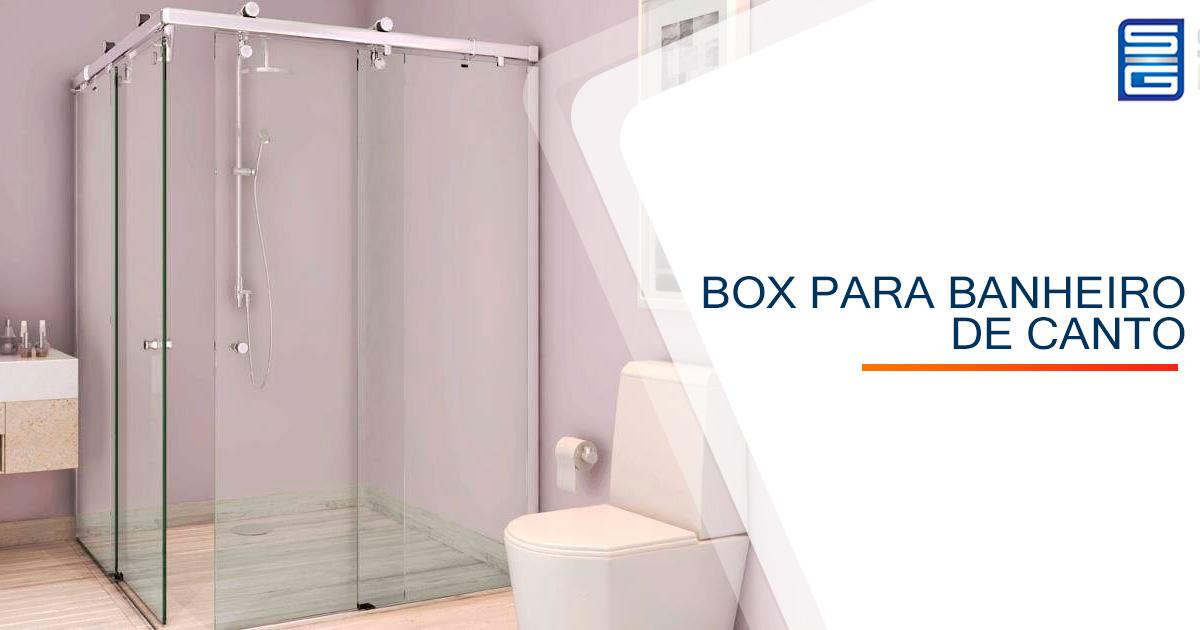 Box para Banheiro de Canto
